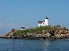Hubble Lighthouse off the coast of Maine