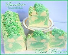 Pear Blossom Luxury Shea Butter Soap
