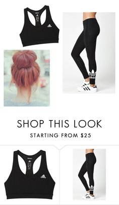 """""""Adidas #3"""" by beauty-within101 ❤ liked on Polyvore featuring adidas"""