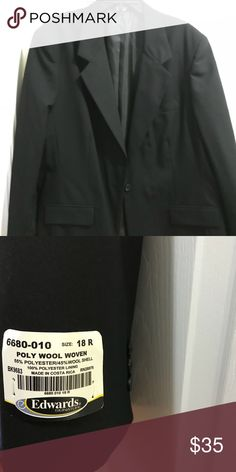 Edwards Signature Black jacket Black jacket. Edwards Signature Jackets & Coats Coats, Blazer, Best Deals, Womens Fashion, How To Make, Jackets, Closet, Style, Down Jackets
