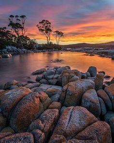 Amazing Sunsets, Beautiful Sunset, Amazing Nature, Beautiful Places, Tasmania Australia, Landscape Photography, Nature Photography, Sunset Images, Landscaping Images