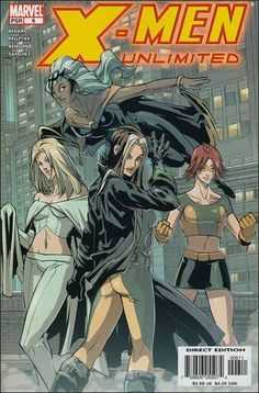 x-women sage | Men Unlimited 6 A, Feb 2005 Comic Book by Marvel