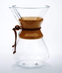 Chemex-Karaffe für 6 Tassen 890 ml Coffee Blog, Coffee To Go, Best Coffee, Coffee Cups, Best Espresso Machine, Espresso Maker, Espresso Coffee, Chemex Coffee Maker, Italian Espresso