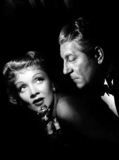 Marlene Dietrich and Jean Gabin, 1946