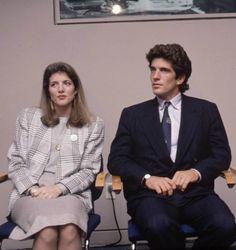 Caroline Bouvier Kennedy (born November 27, 1957, and her brother .John Fitzgerald Kennedy, Jr. (November 25, 1960 – July 16, 1999. ❤❤ http://en.wikipedia.org/wiki/John_F._Kennedy_Jr. http://en.wikipedia.org/wiki/Caroline_Kennedy