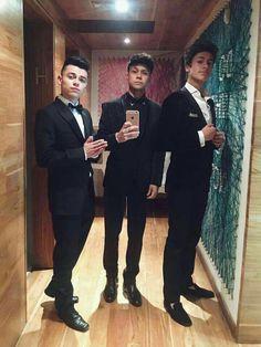 RK, Mário Ruiz y Juanpa Zurita #Caballeros #Cena2016