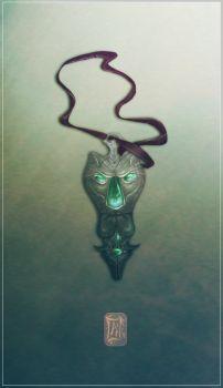 Kitty's Pendant by Aikurisu