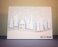 Memory Box die- Cottage in the Woods 98536 by Barb Ghigliotty