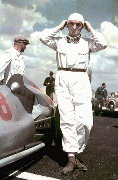Hermann Lang, Mercedes 154, Reims