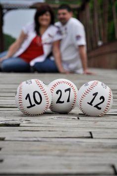 baseball save the date