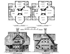 Stick style house plans