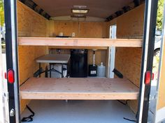 """5x10 enclosed cargo trailer, aka """"El Burro"""" - Expedition Portal"""