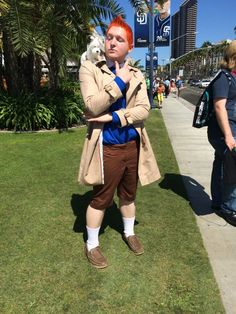 Coolest Comic-Con Cosplay: The First 24 Hours Guy finally takes advantage of fact he looks like TinTin.  (Is this Kevin Rudd?)