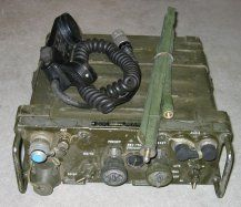prc77 Vietnam era Backpack Radio.  This is a cool radio, because the frequencies are in the 6 meter ham bands.