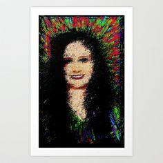 Stephanie  Art Print by brett66 - $14.56 Twin ~ Steph