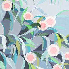 Claire Ishino Print - Hakea on the Way Home Floral Illustrations, Illustration Art, Gouache Painting, Limited Edition Prints, Flower Art, Illustrators, Print Patterns, Original Paintings, Abstract Art