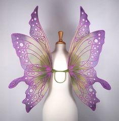 I love butterflys and wings. These are beautiful!
