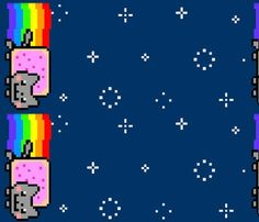 Nyan Cat Fabric!