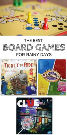 """Stuck inside because of snow and rain? With the right attitude, these """"bummer"""" days can easily be turned into exciting game days spent giggling and bonding with loved ones. This list of the 5 best fun and classy board games out there will keep you entertained for hours on end."""