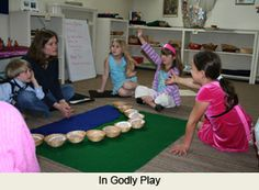 godly play rooms | What does a typical Godly Play session look like?