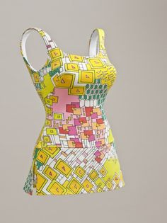 1963 ca.     Swimsuit.          Rose Marie Reid   United States, California, Spandex.                     collections.lacma.org