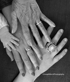 Four Generations, Four Generation Photo Idea Four Generation Pictures, four generations under one roof, Four Generation Photos | Joseph Brock Photography