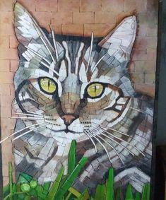 Mosaic Tile Art, Mosaic Diy, Mosaic Garden, Mosaic Crafts, Mosaic Glass, Mosaic Animals, Mosaic Birds, Mosaic Art Projects, Stained Glass Ornaments