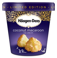 Haagen Dazs Coconut Macaroon Ice Cream