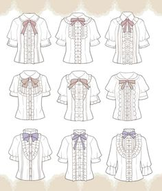 Drawing clothes reference character design new Ideas Drawing Anime Clothes, Dress Drawing, Fashion Design Drawings, Fashion Sketches, Mode Lolita, Lolita Style, Estilo Lolita, Clothing Sketches, Anime Dress