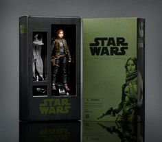 When the Hasbro Black series figure for Jyn Erso was unveiled the other day at Star Wars Celebration, fans had no idea that they'd be buying the new figure just days later as a Comic Con Exclusive. Star Wars Gifts, Star Wars Toys, Star Wars Art, Rogue One Jyn Erso, Sdcc 2016, Star Wars Merchandise, Star Wars Celebration, Daily Star, Star Wars Action Figures