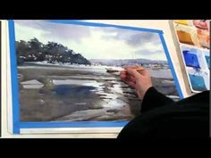 Ev Hales Watercolor Demonstration 6 Boats in the Bay2