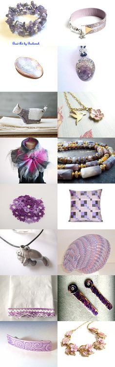 Lavender Love by Maria and  Mimi on Etsy--Pinned with TreasuryPin.com