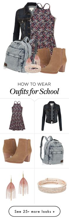 """Just Like Fire-P!nk"" by grandmasfood on Polyvore featuring LE3NO, Hollister Co., Franco Sarto, Anne Klein, Serefina and Ted Baker"