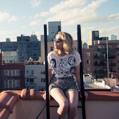 Take A Tour Of Tavi Gevinson's Wardrobe On Us, Naturally It's Amazing #streetstyle