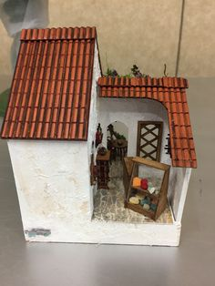 Cheese shop of  Gail S's 2017 1/4 scale Fun Day project The Vineyard