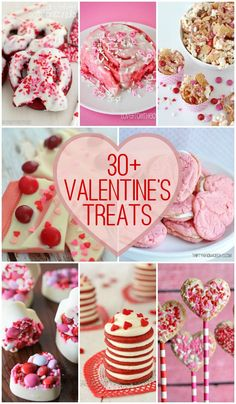 Valentines Treats A collection of all the best Valentine's Day Desserts to make on the From chocolate to berry to red velvet, we've got cakes, cupcakes and more! Valentine Desserts, Valentine Cookies, Valentines Day Treats, Desserts To Make, Holiday Treats, Holiday Recipes, Valentines Baking, Kids Valentines, Valentine Cards