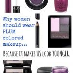 Can Women Over 35 Wear Colored Eyeliner? {And Why Plum Should Be Your Favorite Color}