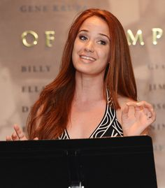 Sierra Boggess I want her hair colour! :)