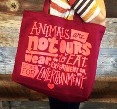 Animals are not ours to EAT, WEAR, EXPERIMENT ON, or USE FOR ENTERTAINMENT.  Check out our Summer Catalog & sign up to get $10 OFF your order! http://lookbook.petacatalog.com/
