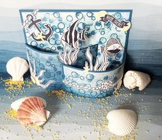 Stampin up stamp niche Seaside shore