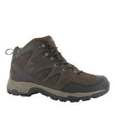 Love this Dark Chocolate Altitude Trek Mid I Waterproof Leather Hiking Boot by Hi-Tec on #zulily, $59 !!  #zulilyfinds