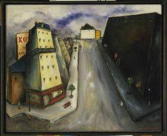 Rue de la Santé. Yves Tanguy. 1925