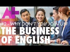 The Business of English E02: Why don't you join us? - LinkEngPark