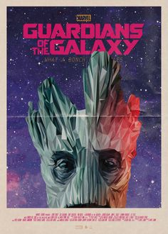 "Phase 2 Of The Poster Posse's Tribute To ""Guardians of the Galaxy"" - Groot"