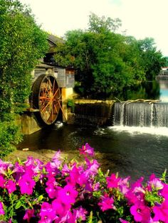 Old Mill, Pigeon Forge, Tennessee.  Go to www.YourTravelVideos.com or just click on photo for home videos and much more on sites like this.