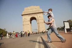 Delhi | Suitcases & Strollers | Travelling with Kids