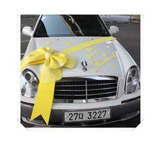 DIY Wedding Car Decorations Kit Ribbon Car Supplies Decor Photos ideas