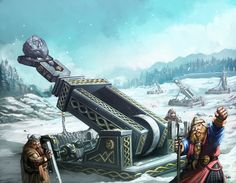 Warhammer Grugde Thrower by faroldjo on deviantART