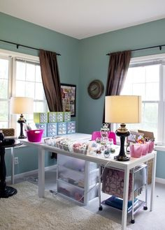 Craft Rooms Inspiration by alyce