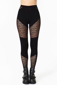 Dark Diamond Leggings by #NastyGal